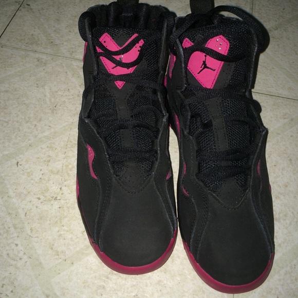 Jordan Shoes | Pink N Black Jordans