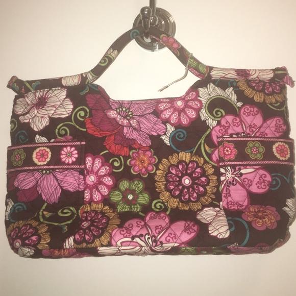 Vera Bradley - Fabric Bag with Short Handles. M 56f5d2d7f0928276de047024 8d4c26db95c2a