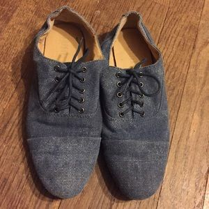 Blue Forever 21 Oxfords Size 7