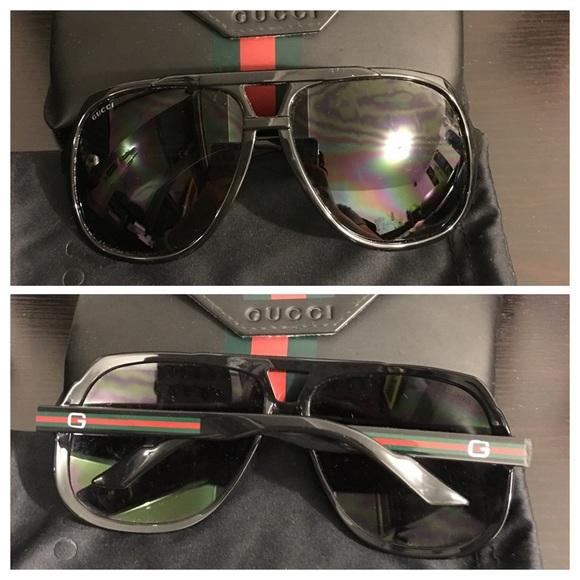 90282c75c7b Gucci Accessories - Gucci 1622 S Aviators Black