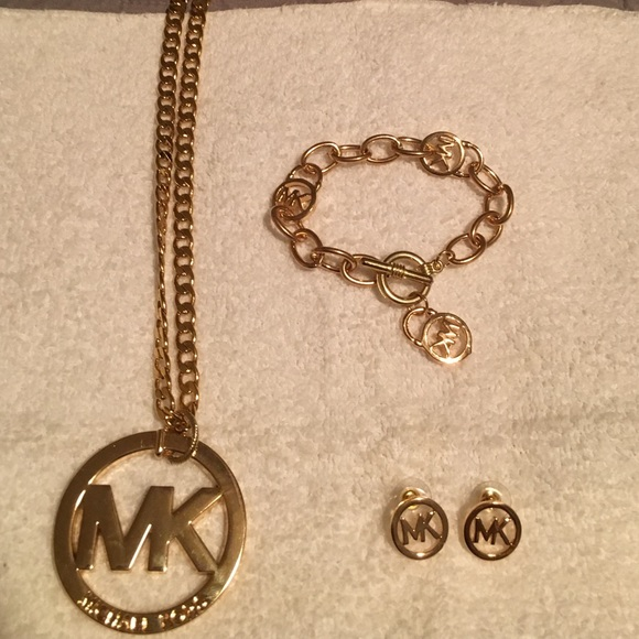 MK jewelry set sold all together