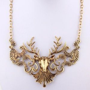 " ""Bambi"" Statement Necklace"
