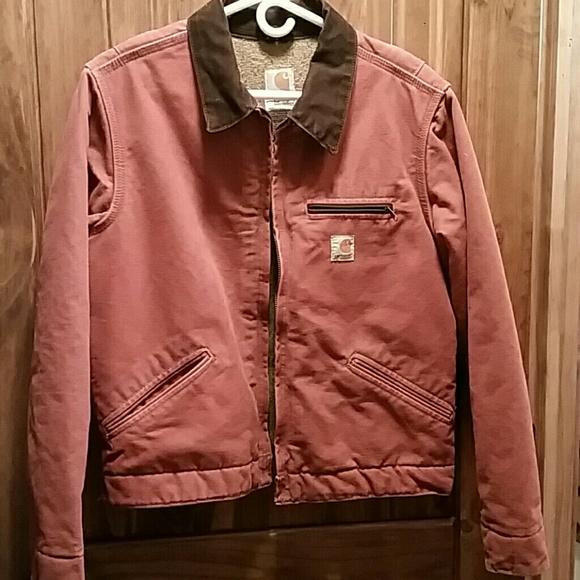 Carhartt Jackets Amp Coats Carhartt Wj097 Sandstone