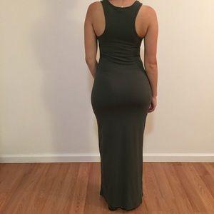 Olive Tank Maxi Dress