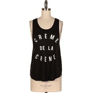Tops - 1 HOUR SALE!! Creme de la Creme Top