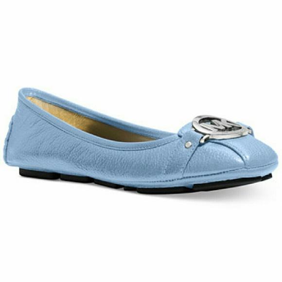 d166c2437d68 Michael Kors Light Blue Flats
