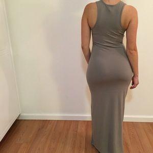 Dresses & Skirts - •RESTOCKED• Taupe Tank Maxi Dress