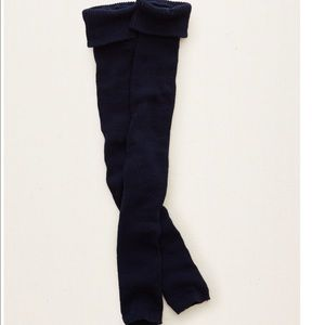 aerie Accessories - New Aerie Navy Ribbed Knit Leg Warmers