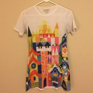 Disneyland Tops - RARE Disneyland Mary Blair Shirt