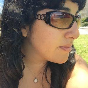 Brown Ring Frame Sunglasses