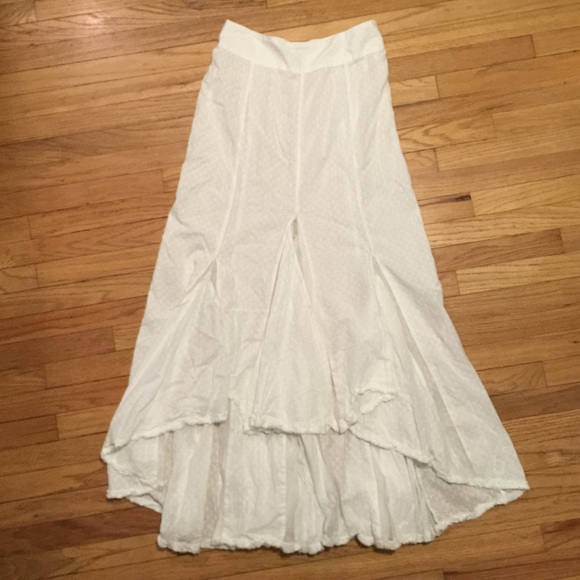 77% off Free People Dresses & Skirts - Free People white cotton ...