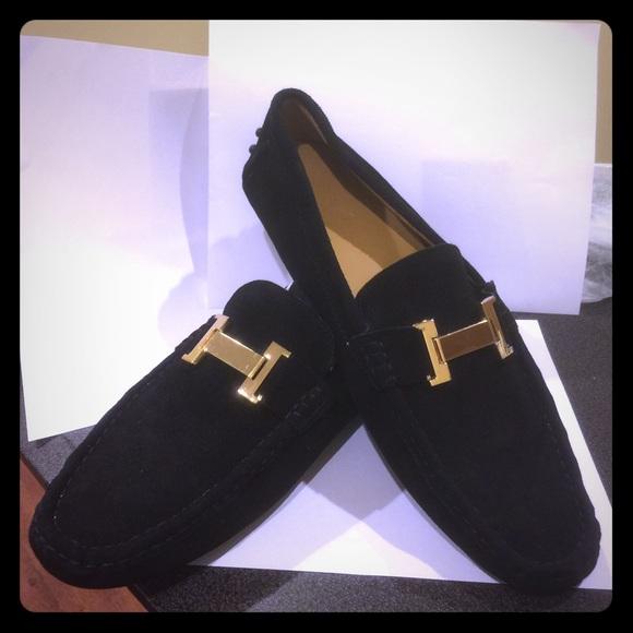 Men's black Suede H Style Shoes!!!