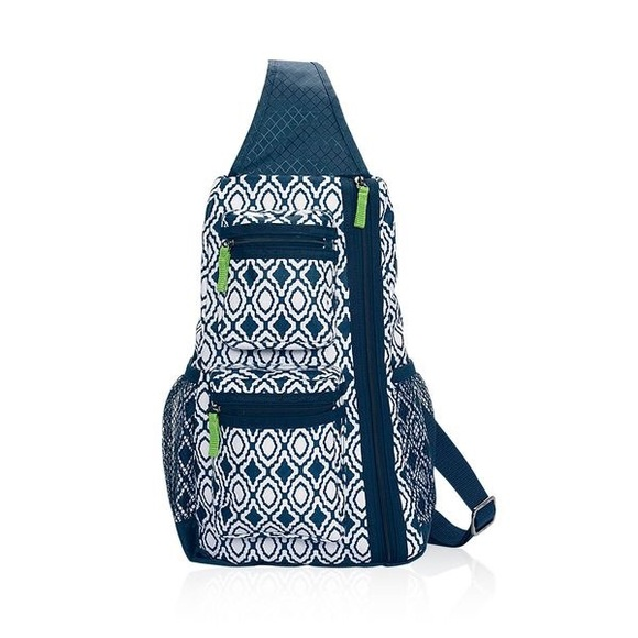 29% off Thirty One Handbags - Thirty One Sling Back Bag Navy ...