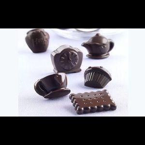 Cupcake teapot clock biscuit chocolate food mold