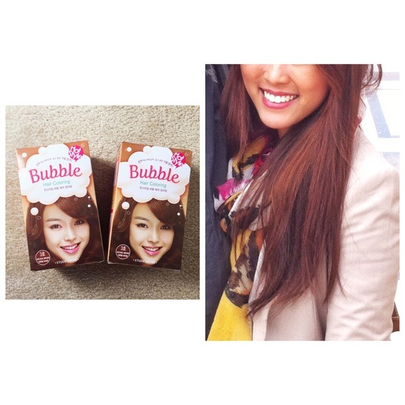 83% off Etude House Accessories - 🌟NEW🌟 Bubble Hair Color (Brown ...