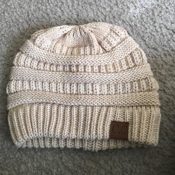 e029d271fb7 Charming Charlie Accessories - CC light tan winter hat