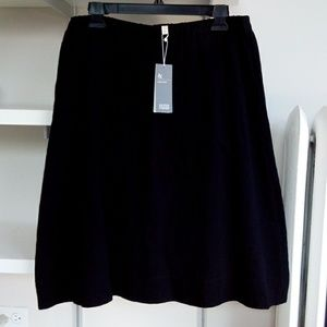 Brand New Eileen Fisher Black Skirt