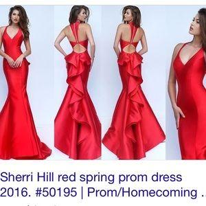 8d6414ba7c1 Sherri Hill Dresses - Sherri hill Style 50195 in black size 0