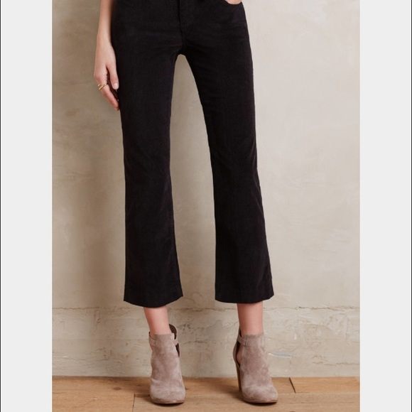 53% off Anthropologie Pants - Pilcro cropped corduroy pant in ...