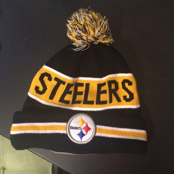 7b6a582f2 Pittsburgh Steelers skull cap