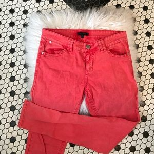 LF Pants - Nordstrom Coral Colored Skinny Jeans