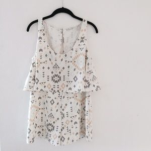 Zara Dresses & Skirts - Pastel Tribal Print Zara Romper 💗