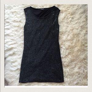 Express Dresses & Skirts - Express Black sequin dress