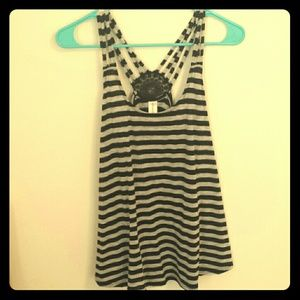 ⛵Striped Detail Tank⛵