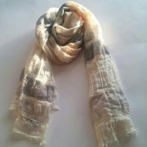 Accessories - *BLACK FRIDAY SALE* 100% cashmere neutral scarf