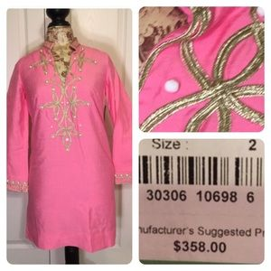 New with tags! Lilly Pulitzer Warner tunic dress