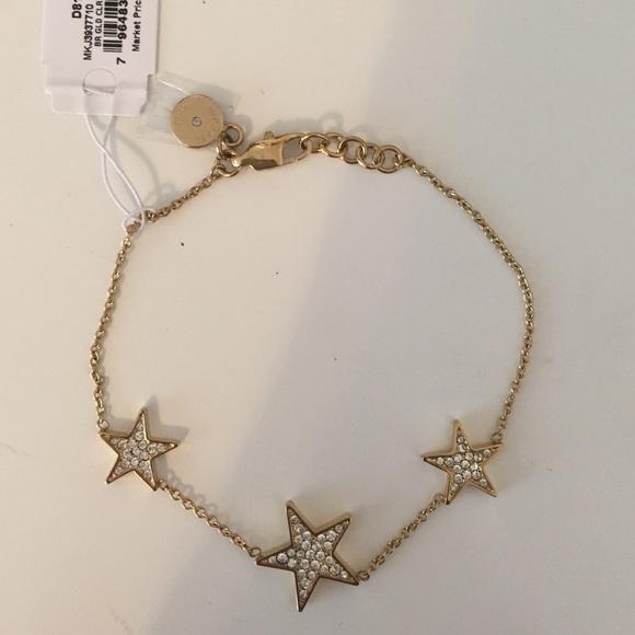 47 off Michael Kors Jewelry Gold Star Bracelet Poshmark