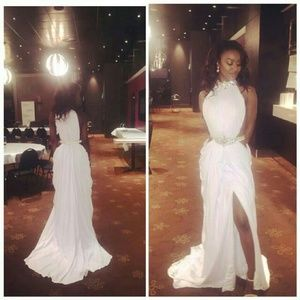 Dresses | White Goddess Prom Dress | Poshmark