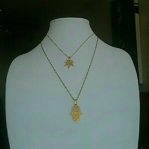 dainty 10k plated necklace from shawn s closet