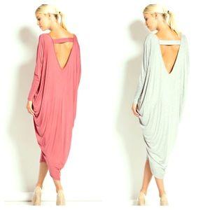 FashionBohoLoco Dresses & Skirts - 🐔 EARLY BIRD SALE! 🐔 Maxi Cape Shirtdress NWOT
