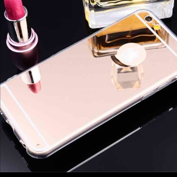 meet 3a81a 1cba1 Luxury iPhone 6/6s rose gold mirror case NWT