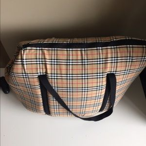 d1f4adec8284 Burberry Bags - Authentic Burberry Dog Carrier