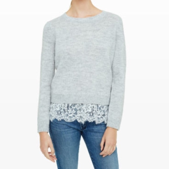 82% off Club Monaco Sweaters - NWT! Club Monaco Jessarey Lace Hem ...