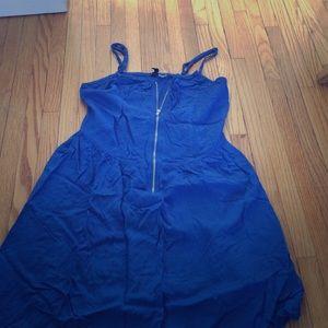 H&M Cobalt blue sun dress size 8/10 small GUC