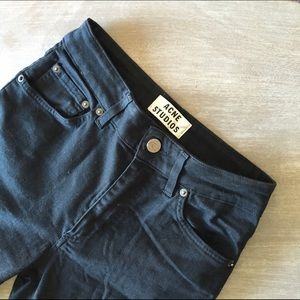 Acne Denim - Acne Black Skinny Jeans