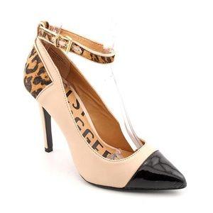Kelsi Dagger Shoes - Kelsi Dagger Eryn ankle strap leather pumps
