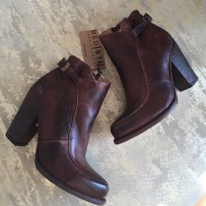 Bedstu Shoes - Brand New Rustic Brown Booties