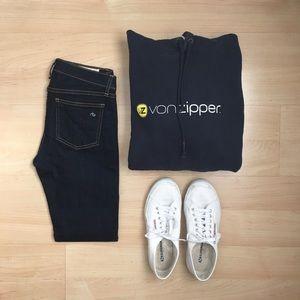Von Zipper Other - Von Zipper Hooded Sweatshirt