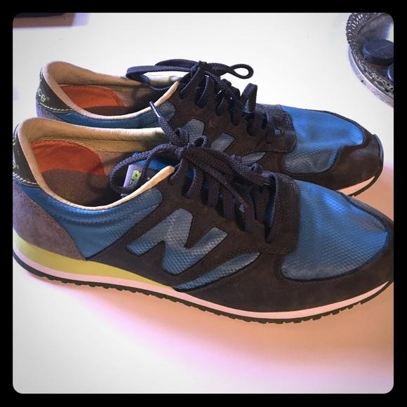 Balance 42 Shoe Blue Grey Green