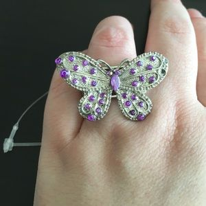 New Stretch Butterfly Ring
