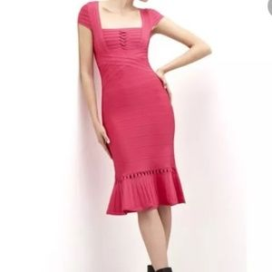 Herve Leger NWT MURIEL Authentic Dress-XS