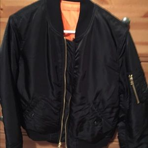 Reversible MA-1 W FLIGHT JACKET