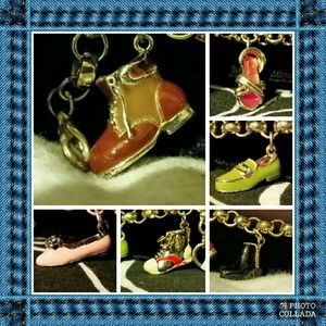 Bloomingdale's Jewelry - Vintage Bloomingdale's Charm Bracelet Shoes Editio