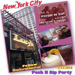 ✨Posh N Sip Party 3.24.16 in NYC Pix