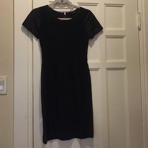 Theory Dresses & Skirts - Theory Jersey/Leather dress size 0
