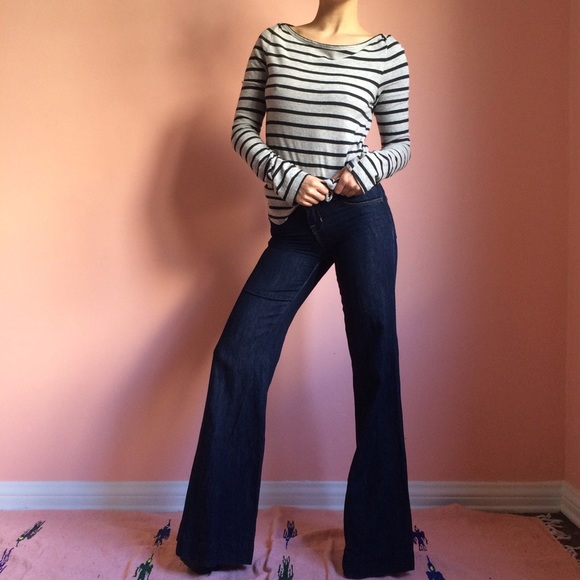 75% off J Brand Denim - J Brand Kat Indigo Wide Leg Jeans from ...